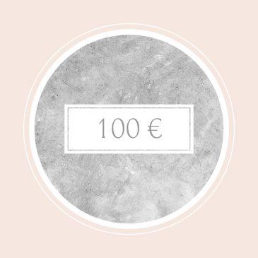 Gutschein im Wert von 100€