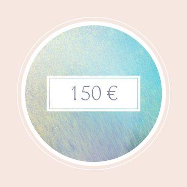 Gutschein im Wert von 150€