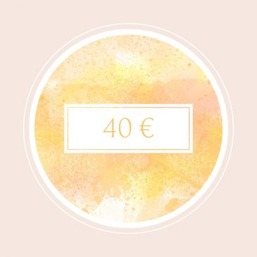 Gutschein im Wert von 40€