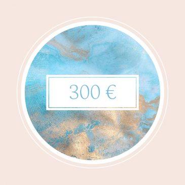 Gutschein im Wert von 300€