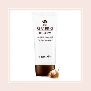 Snail Repairing Sun Cream SPF50+ PA+++ (Secret Key)